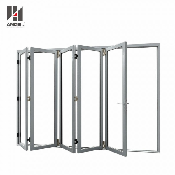 Quality Customized Aluminum Folding Door With Double Glazing for sale