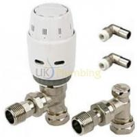China Heating Controls Danfoss RAS-C2 10MM Push Fit Thermostatic Radiator Valve & RLV-D Lockshield on sale