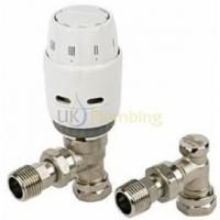 China Heating Controls Danfoss RAS-C2 8/10MM Thermostatic Radiator Valve & RLV-D Lockshield on sale