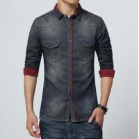 Wholesale Accented Denim Shirt from china suppliers