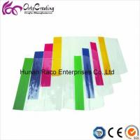 China Adjustable PVC Clear Book Cover with Color Edge on sale