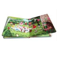 China Contents Custom Print Board Adventures Book on sale
