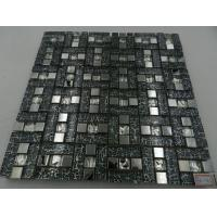 Building Decoration Material Kitchen Wall Tile Glass Mixed Marble and Crystal Resin Mosaic