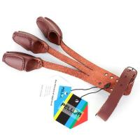 Wholesale Hunting Pellor Handmade 3 Finger Protect Glove Archery Pull Bow arrow Leather Glove from china suppliers
