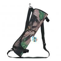 Pellor Outdoor Hunting Training Camo Archery Arrow Holder Bow Belt Quiver With Strap Back Side