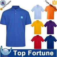 Wholesale OEM golf polo shirt for men professional manufacturer from china suppliers