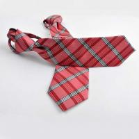 Wholesale Tie Polyester Jacquard Zipper Tie from china suppliers