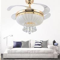 Wholesale Hidden blade ceiling fan light Click on:12 from china suppliers