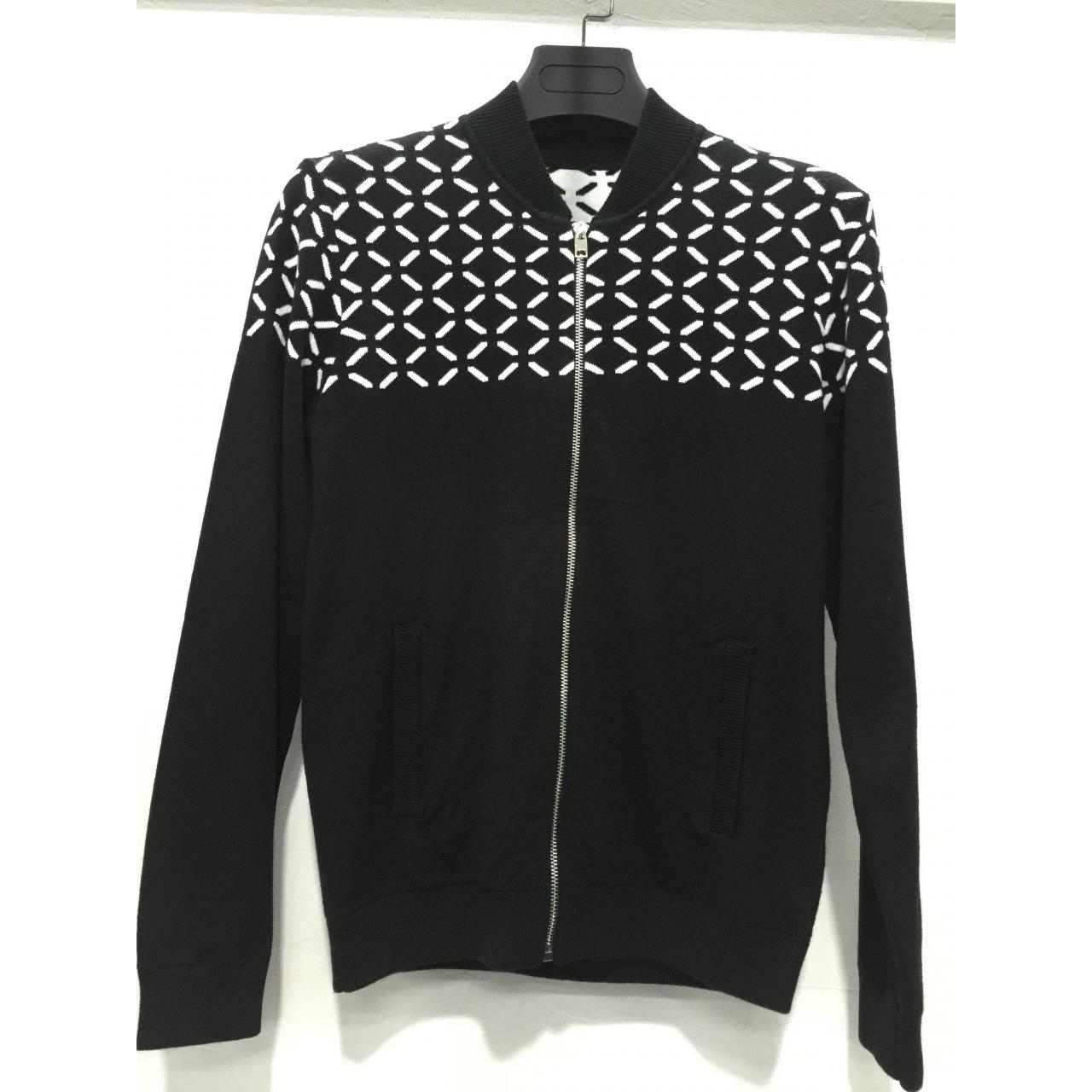 Wholesale High quality mens jacquard pattern black winter cardigan sweater from china suppliers