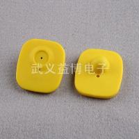 China RFID tags Red, yellow small square anti-theft tags, YB-R13 on sale