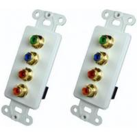 AZBLN1169W RGB Video / Digital Audio Wall Plate Insert With Plates