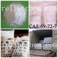 Wholesale Medical Chemical Materials Salicylic acid CAS:69-72-7 from china suppliers