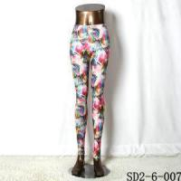 Wholesale Knitting Flowers Leggings from china suppliers