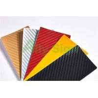 Buy cheap 1.52x30m/roll 3D Carbon Fiber Vinyl Car Wrapping from wholesalers