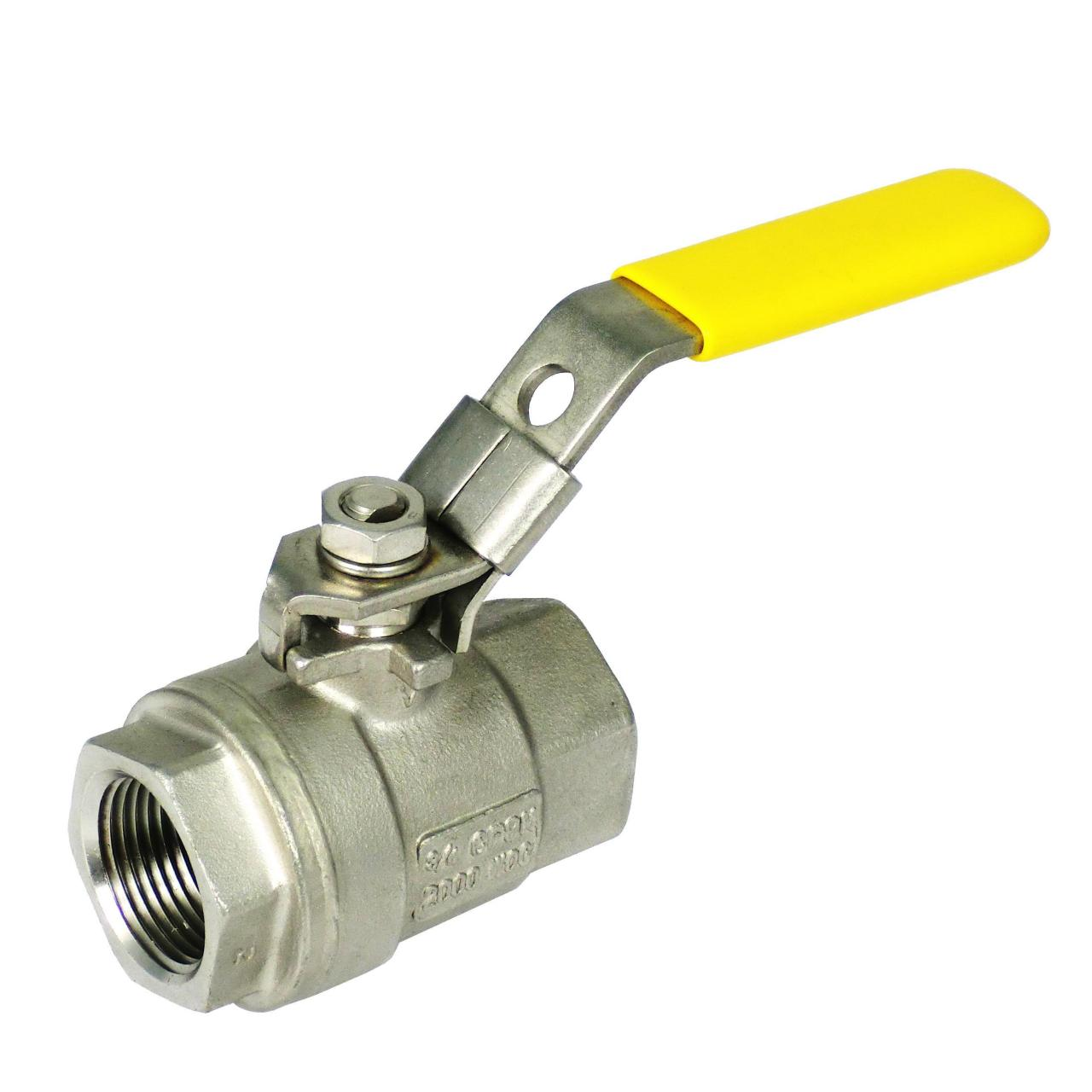 Wholesale Ball Valve Two Piece 2000 W.O.G. from china suppliers