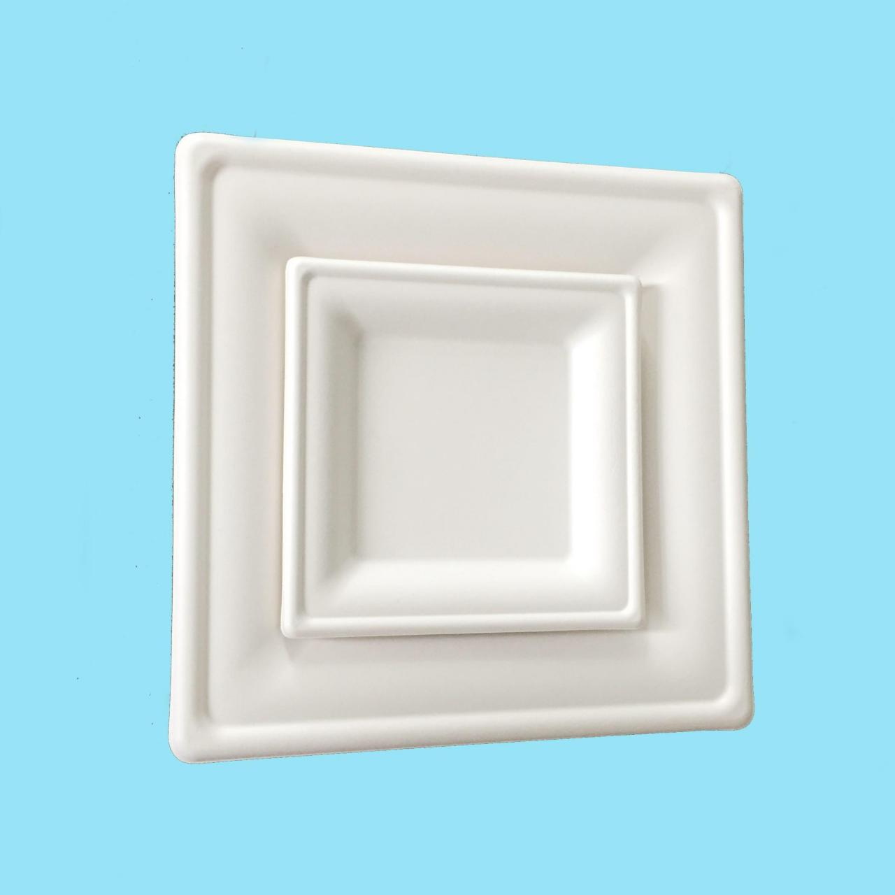 "Wholesale Degradacin nica square plate 10"" from china suppliers"