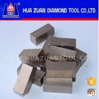 Wholesale Sandwich Diamond Segment Marble Stone Cutting Tip For Stone Saw Blade from china suppliers