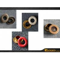 Wholesale Eyelet Metal Grommet Eyelets Clothes in Colours from china suppliers