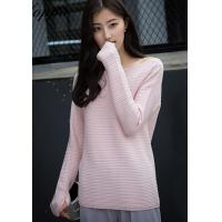 Wholesale Lafoppa Boat Neck Cashmere Sweater from china suppliers