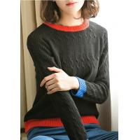 Wholesale Lafoppa Women Contrast Color Knitwear from china suppliers