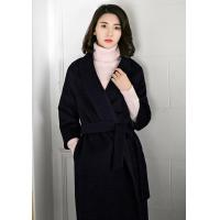 Wholesale Lafoppa Tailored Collar Woolen Overcoat from china suppliers