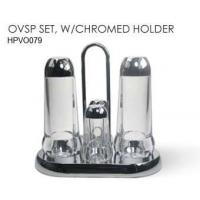Wholesale HOUSEWARE OVSP SET, W/CHROMED HOLDER from china suppliers