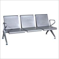 Wholesale Stainless Steel Three Seater Waiting Chair from china suppliers