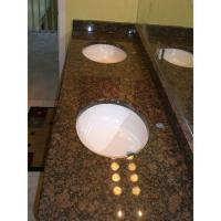 Buy cheap Baltic Brown Soapstone Solid Surface Granite Bath Vanity Countertops for Bathroom in Hotel from wholesalers