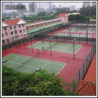 Public Indoor Tennis Courts and Field Club Center Flooring