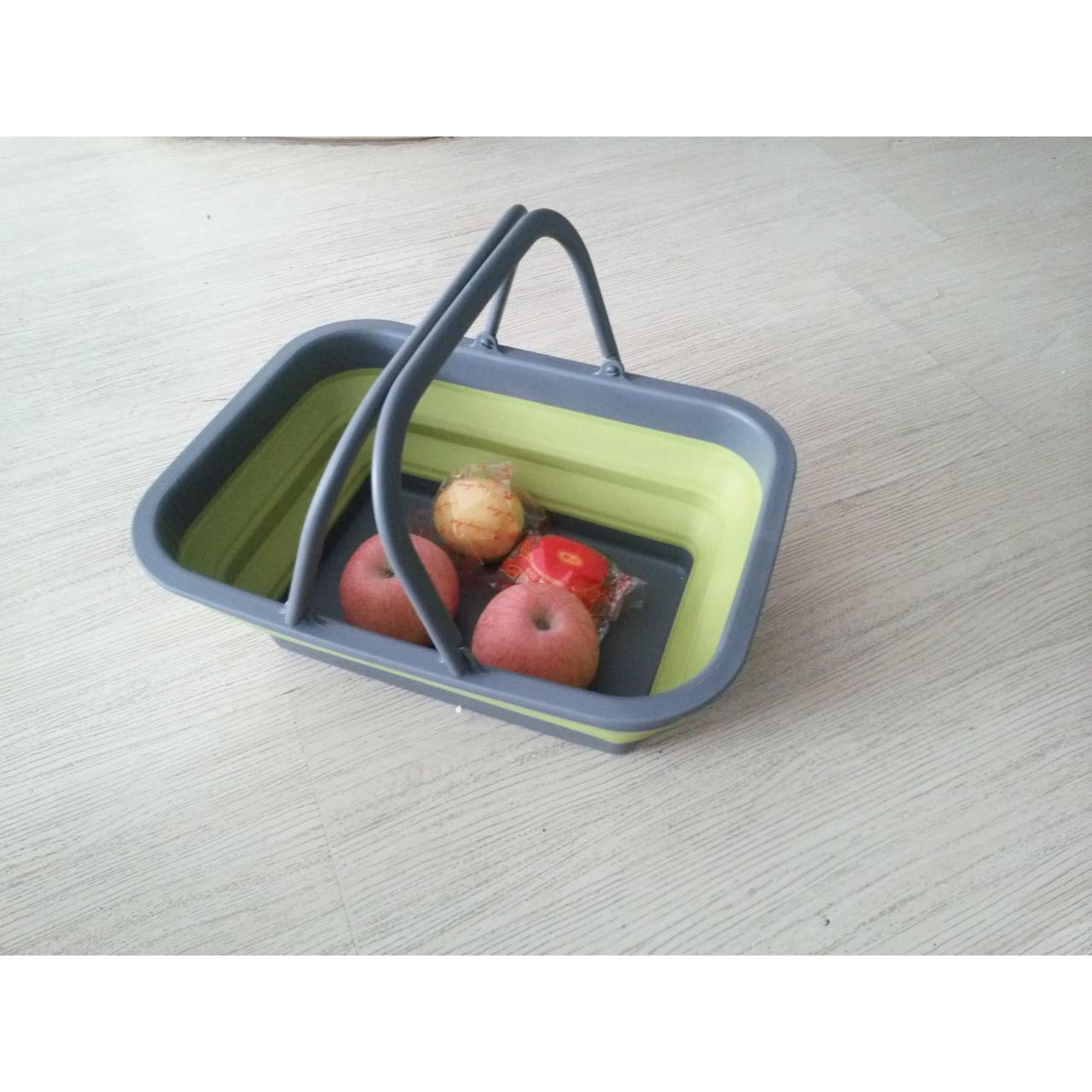 Wholesale Colorful plastic collapsible fruit basket from china suppliers