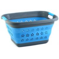 Wholesale wholesale flexible foldable plastic collapsible laundry basket from china suppliers