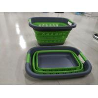 Wholesale plastic foldable laundry basket from china suppliers