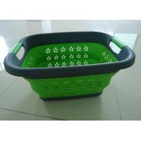Wholesale plastic collapsible laundry basket from china suppliers