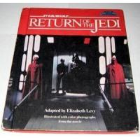 China 1983 Star Wars ROTJ step up movie adventure book, Hardcover, wear on sale