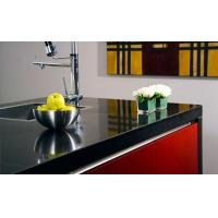 Buy cheap Artificial Stone Slab Countertop Black Galaxy Quartz Stone Kitchen Countertop SGS Approved from wholesalers