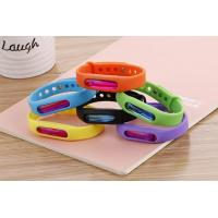 Wholesale Bracelet Deet free mosquito defense repellent silicone bracelet band from china suppliers