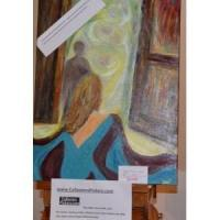 B 1043 0riginal Painting Called Door to the Past