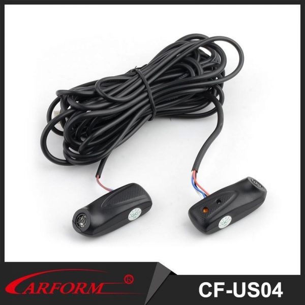 China Car separated ultrasonic sensor simple to install and compatible with most of the car alarms