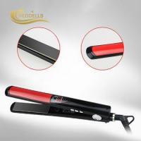 Wholesale W-173 LCDfast and electric brush hair straightener from china suppliers