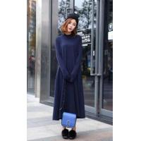Wholesale Korea style bat sleeve sweater fashionable loose knit sweater for women from china suppliers