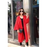 Wholesale 2017 autumn Latest design cashmere knitted long women cardigan for ladies from china suppliers