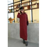 Wholesale 2017 Latest New Design Fashion Striped Extra Long Women Sweater from china suppliers