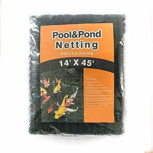 Quality Green House Pool and Pond Netting Black 14ft by 45ft for sale