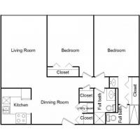 Buy cheap 2 Bedroom Apartments In Illinois from wholesalers