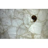 China Natural Quartz-white Crystal Healing Stone For House Design on sale