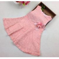 Wholesale wholesale sample pattern party birthday lace pink baby girl lace dress online from china suppliers
