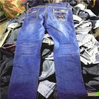 China Lady Jean Pants Hot Sale Used Clothes on sale