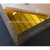 Wholesale 3mm golden mirror sheet from china suppliers