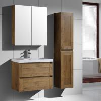 Buy cheap European Marble Vanity with MDF Cabinet from wholesalers