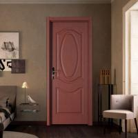 Buy cheap Classic Panel Flush Door with Wood Door Frame from wholesalers